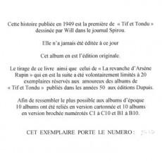 Extrait de Tif et Tondu -Pir1- La Cité des rubis