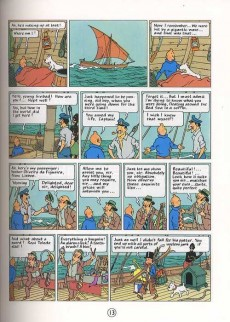 Extrait de Tintin (The Adventures of) -4b- Cigars of the Pharaoh