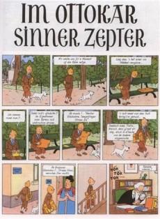 Extrait de Tintin (en langues régionales) -8Alsacien- Im Ottokar sinner zepter