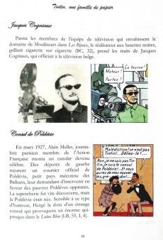 Extrait de Tintin - Pastiches, parodies & pirates -PIR- Tintin, une famille de papier