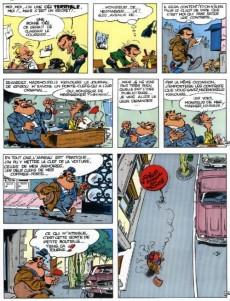 Extrait de Les trésors de la bande dessinée -1- Best of Lagaffe 1