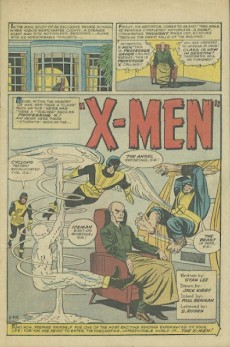 Extrait de Uncanny X-Men (The) (Marvel comics - 1963) -1- X-men