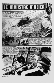 Extrait de Vengeur (2e Série - Arédit - Comics Pocket) -1- Le monstre d'acier