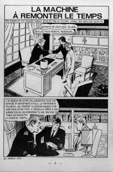 Extrait de Vengeur (2e Série - Arédit - Comics Pocket) -6- La machine à remonter le temps