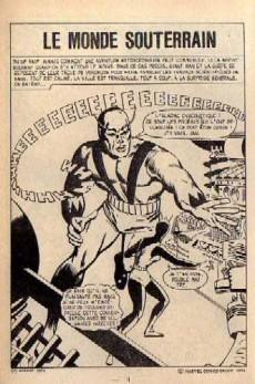 Extrait de Vengeur (2e Série - Arédit - Comics Pocket) -8- Le monde souterrain