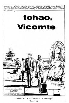 Extrait de Le vicomte (Comics Pocket) -2- Tchao, Vicomte