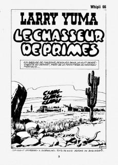 Extrait de Whipii ! (Panter Black, Whipee ! puis) -66- Larry Yuma - Le chasseur de primes