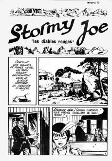 Extrait de Whipii ! (Panter Black, Whipee ! puis) -77- Stormy Joe - Les diables rouges