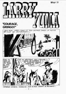 Extrait de Whipii ! (Panter Black, Whipee ! puis) -59- Larry Yuma - Courage gringo