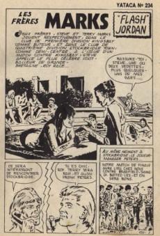Extrait de Yataca (Fils-du-Soleil) -234- Flash Jordan