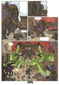 Extrait de Les z'aventures du prince Nunki -2- L'agent armé de seintropez