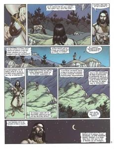 Extrait de Arthur (Chauvel/Lereculey) -5- Drystan et Esyllt