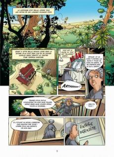 Extrait de Arthur et les Minimoys -1- Tome 1