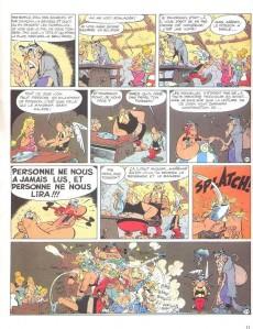 Extrait de Astérix -19c1987- Le devin