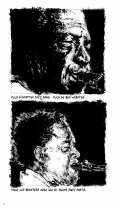 Extrait de BD Jazz - Illinois Jacquet
