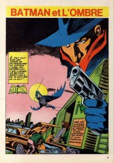 Extrait de Batman Bimestriel (Sagédition) -4- Batman et l'Ombre