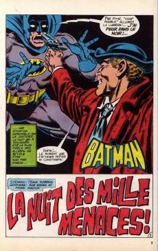 Extrait de Batman Bimestriel (Sagédition) -3- La nuit des mille menaces