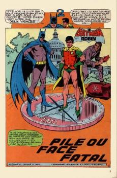 Extrait de Batman Bimestriel (Sagédition) -5- Pile ou face fatal