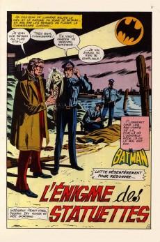 Extrait de Batman Géant (Sagédition - 1re série) -4- L'énigme des statuettes