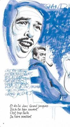 Extrait de BD Chanson -9- Jacques Brel