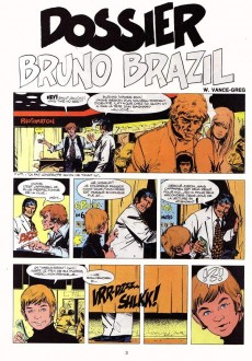 Extrait de Bruno Brazil -10'- Dossier Bruno Brazil
