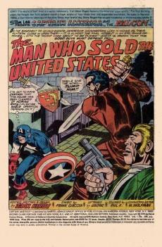 Extrait de Captain America (Marvel comics - 1968) -199- The man who sold the United States !