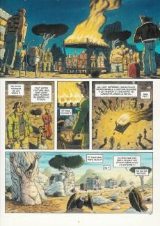 Extrait de Caravane (Milhiet) -2- La loi des monstres