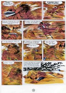 Extrait de Chevalier Ardent -8- La Dame des sables