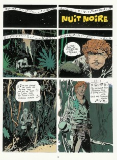 Extrait de Jim Cutlass (Une aventure de) -7- Nuit noire