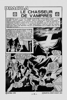 Extrait de Dracula (Aredit - Comics Pocket) -7- Le chasseur de vampires