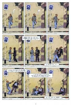 Extrait de Les enragés -1- Le dos au mur