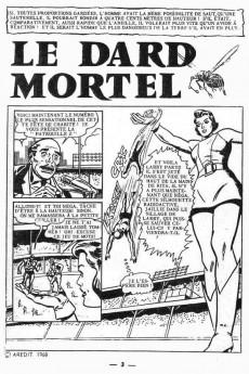 Extrait de Étranges aventures (1re série - Arédit) -7- Le dard mortel