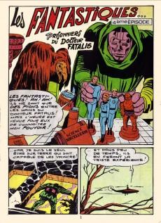Extrait de Fantask (1re Série - LUG) -2- Prisonniers du Docteur Fatalis