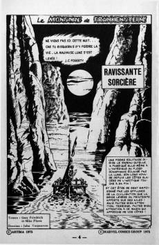 Extrait de Frankenstein (Arédit - Comics Pocket) -2- Ravissante sorcière