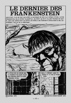 Extrait de Frankenstein (Arédit - Comics Pocket) -3- Le dernier des Frankenstein