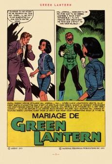 Extrait de Green Lantern (Arédit) -1- Green Lantern 1