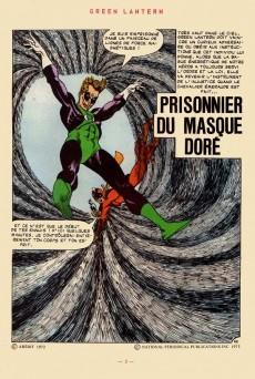 Extrait de Green Lantern (Arédit) -2- Green Lantern 2