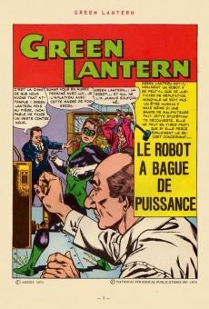 Extrait de Green Lantern (Arédit) -3- Green Lantern 3