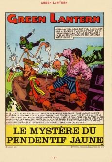 Extrait de Green Lantern (Arédit) -4- Green Lantern 4