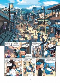 Extrait de Hana Attori -2- Le village invisible