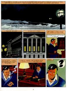 Extrait de Harry Dickson (Vanderhaeghe/Zanon) -1a1995- La bande de l'araignée