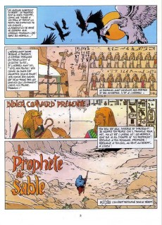 Extrait de Les héritiers du soleil -2- Le prophète de sable