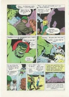 Extrait de Hulk (4e Série - Arédit - Pocket Color) -1- Le combat des titans