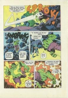 Extrait de Hulk (4e Série - Arédit - Pocket Color) -2- Quand Hulk se déchaîne