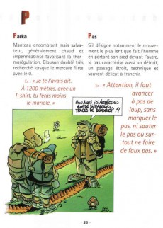 Extrait de Illustré (Le Petit) (La Sirène / Soleil Productions / Elcy) -a2005- La Randonnée illustrée de A à Z
