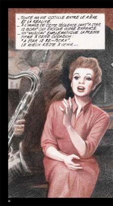 Extrait de BD Ciné -10- Judy Garland