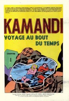 Extrait de Kamandi (2e série - Arédit - Artima Color DC Super Star) -5- Voyage au bout du temps