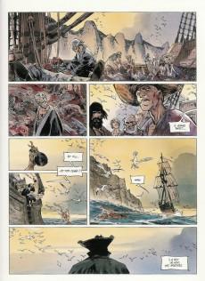 Extrait de Long John Silver -3- Le Labyrinthe d'Émeraude