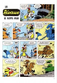Extrait de Lucky Luke (Pub et Pastiches) -19Total- Les Rivaux de Painful Gulch