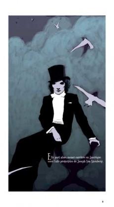 Extrait de BD Ciné -6- Marlène Dietrich